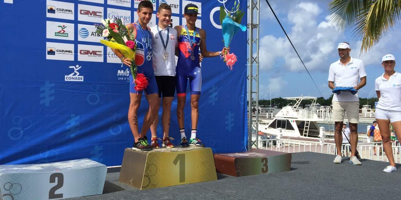 Alexis Kardes : Vice champion du monde aquathlon junior 2016