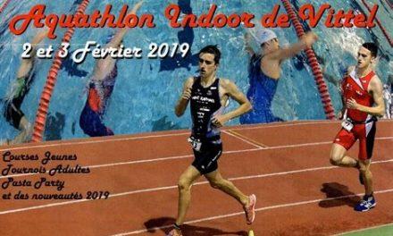Aquathlon de Vittel 2019