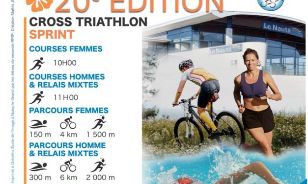20ème édition du Triathlon du nautil ! 8 Mai 2019