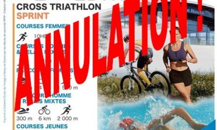 Annulation duTriathlon du Nautil du 8 mai 2020 !
