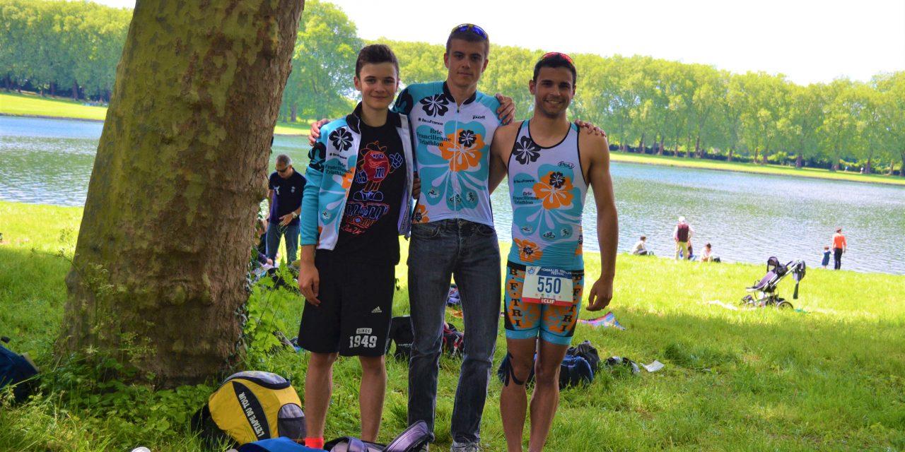 21 mai 2017 – triathlon de Versailles