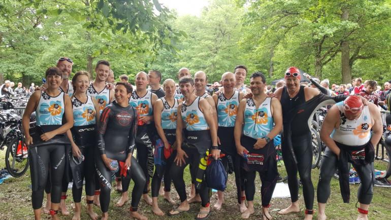 Triathlon de l'étang des bois 2018