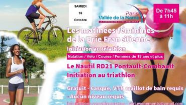 Matinée découverte triathlon féminin