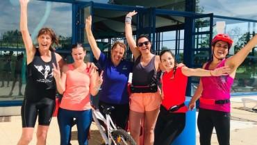 Matinée découverte du triathlon féminin